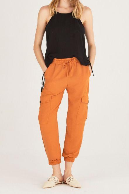 Pantalon Babucha Delucca Verano 2021 Notilook Moda Argentina