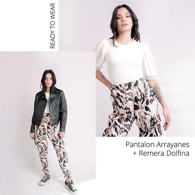 pantalon babucha animal print juvenil Love this verano 2021