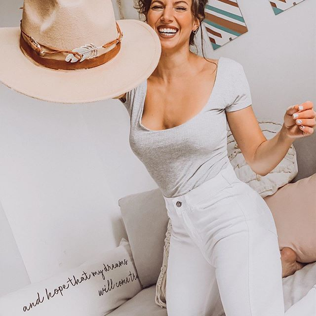 pantalon blanco mine jeans verano 2021