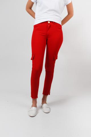 pantalon cargo chupin benalina af jeans verano 2021