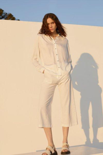 pantalon culotte blanco verano 2021 estancias chiripa