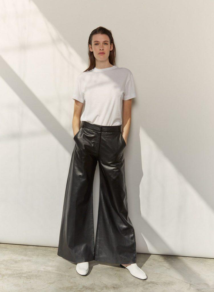pantalon oxford de cuero verano 2021 Etiqueta Negra