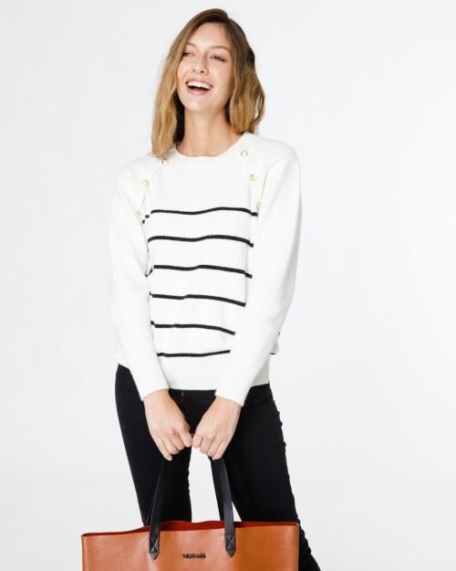 sweater a rayas Wanama verano 2021