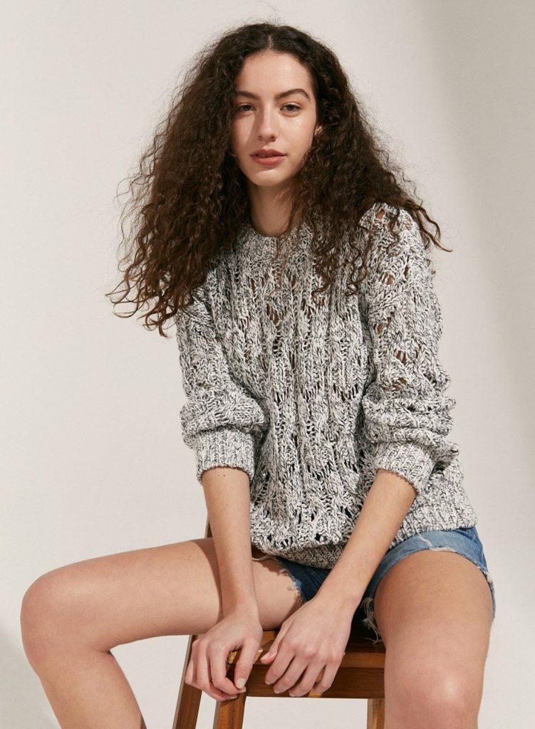 sweater calado verano 2021 Etiqueta Negra