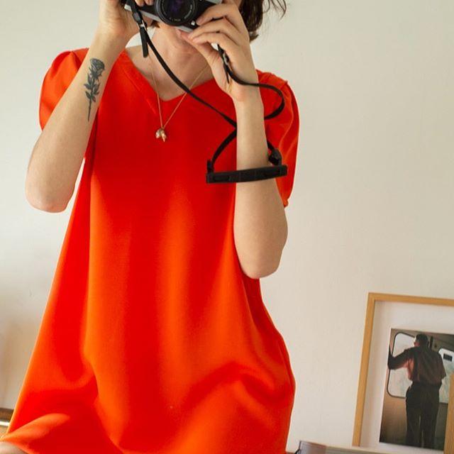 vestido corto urbano Sans Doute verano 2021
