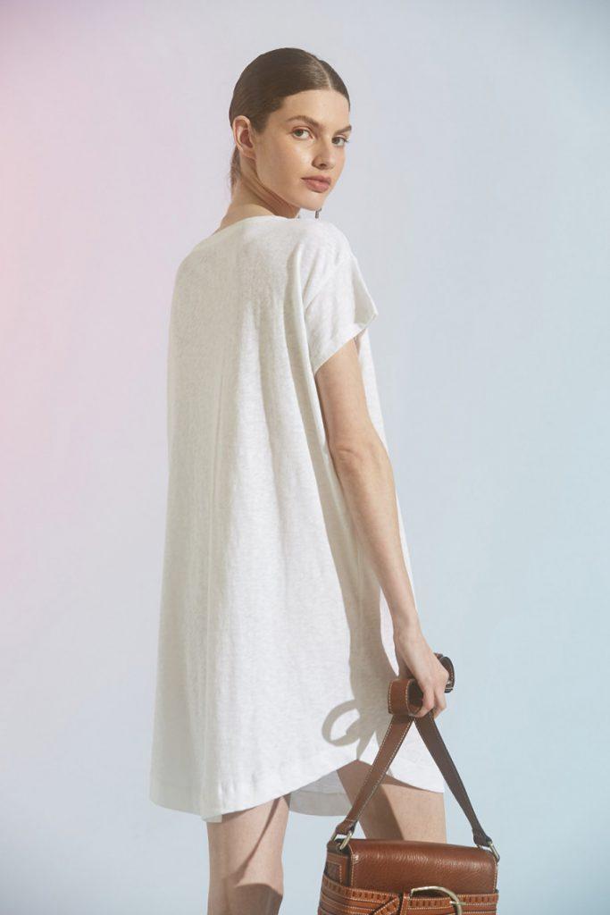 vestido remeron blanco Maria cher verano 2021