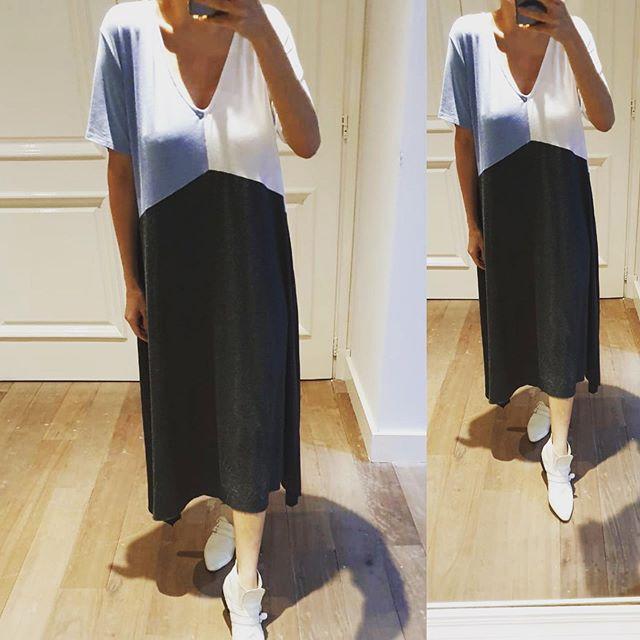 vestido tunica algodon pura pampa verano 2021