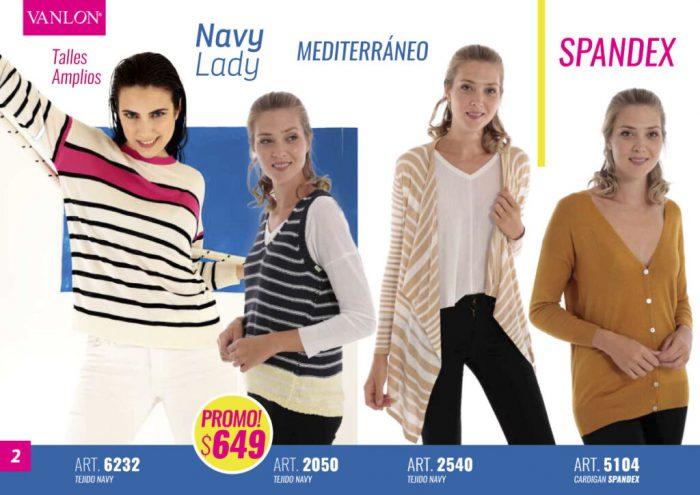 VANLON tejidos en hilo para mujer primavera verano 2021