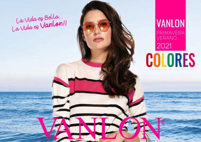 VANLON tejidos para mujer primavera verano 2021