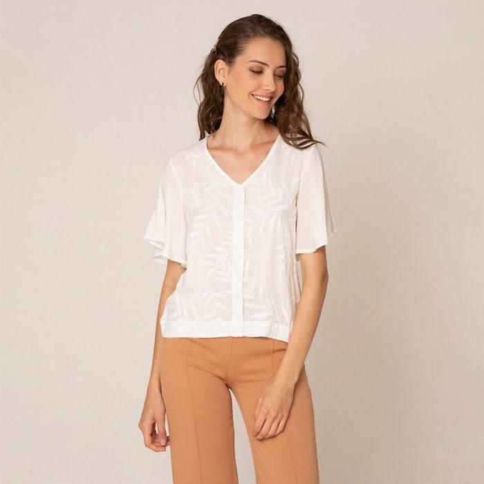 blusa blanca verano 2021 try me