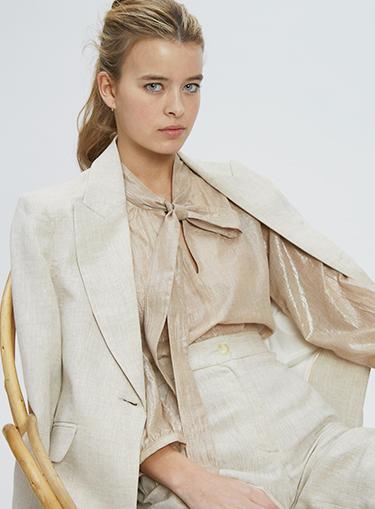 blusas de seda Awada verano 2021