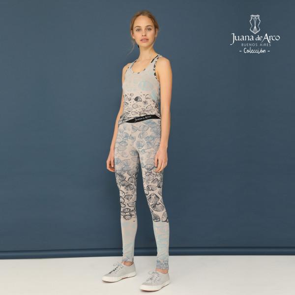 calzas y remera estampada juana de arco verano 2021