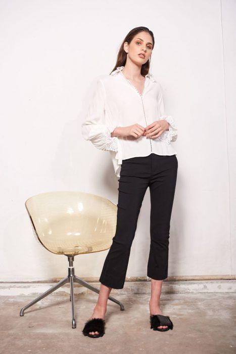 camisa blanca mujer juvenil Allo Martinez verano 2021