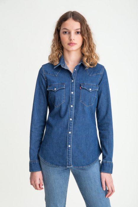 camisa denim mujer verano 2021 Levis