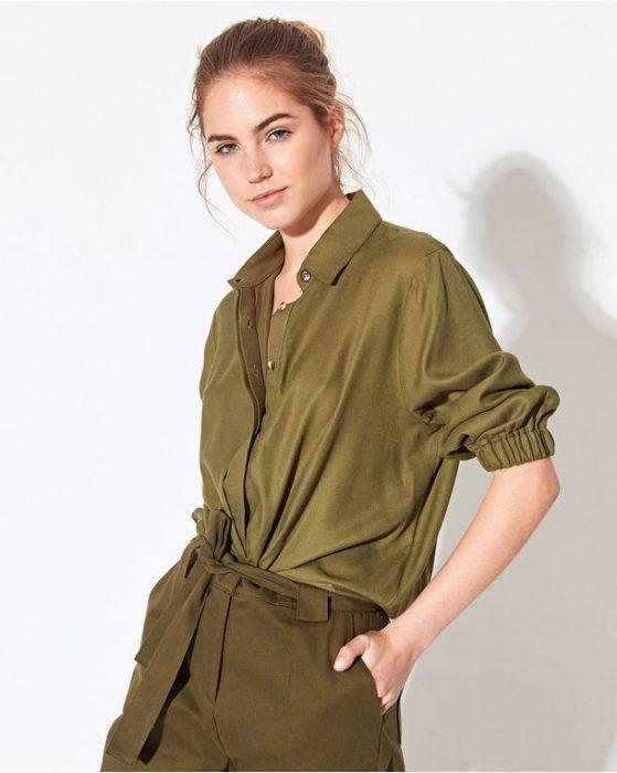 camisas mujer casual System verano 2021