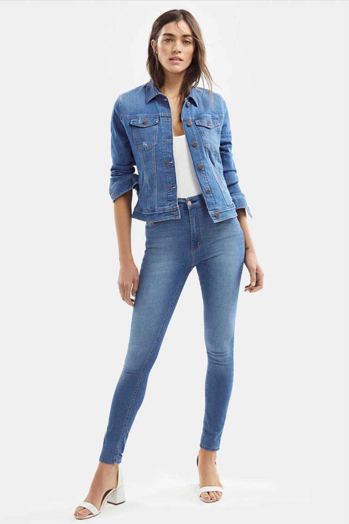 campera denim Adicta jeans verano 2021