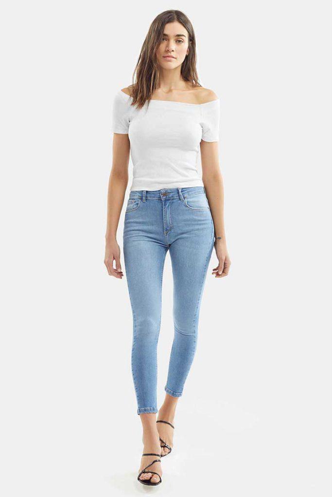 chupin claro Adicta jeans verano 2021
