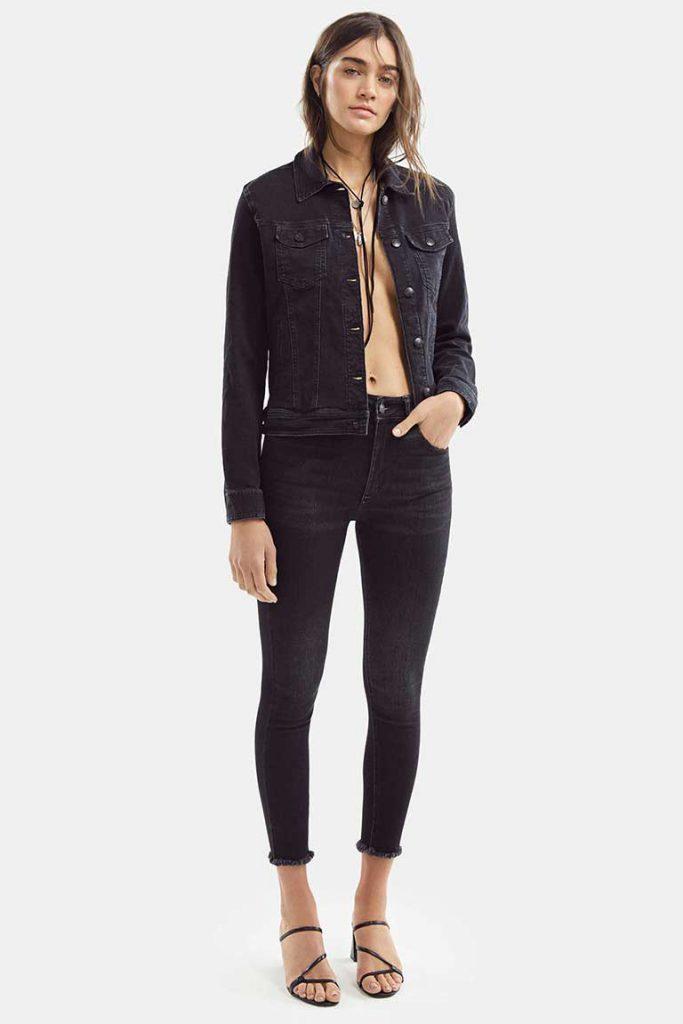 chupin negro Adicta jeans verano 2021