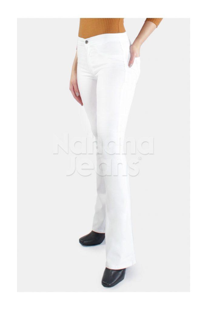jeans blanco verano 2021 Nahana Jeans