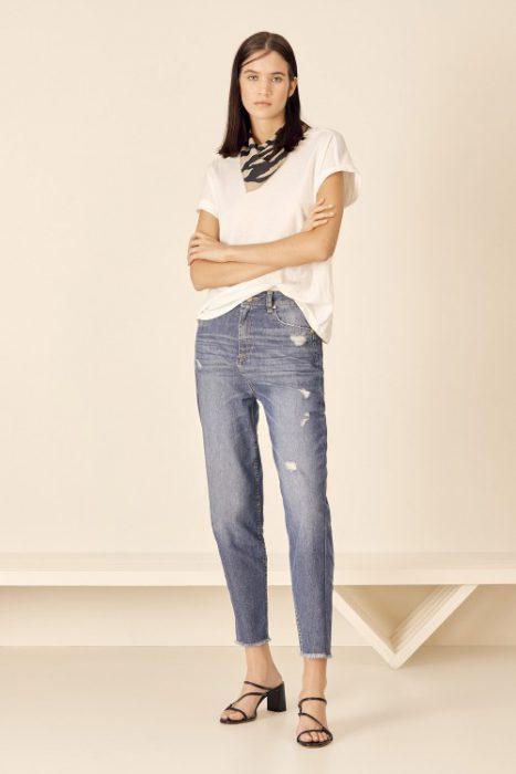 jeans de moda mujer tucci verano 2021