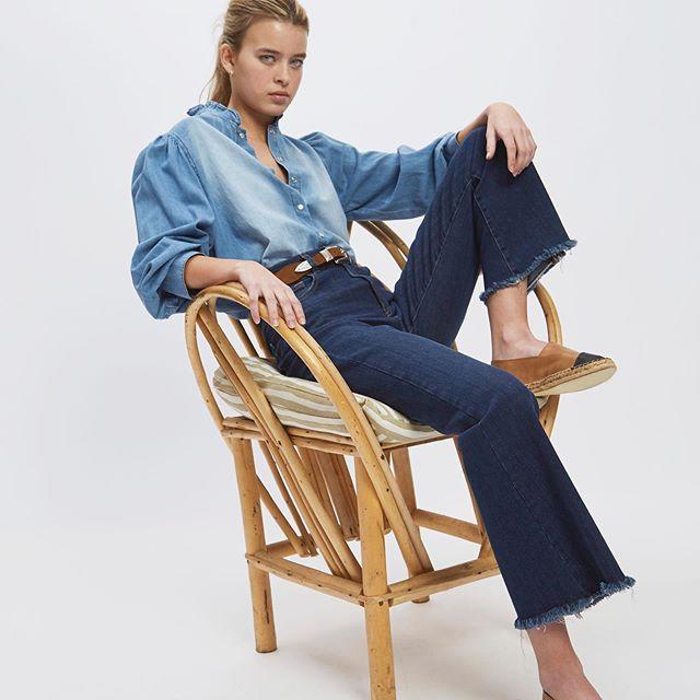 jeans desflecado Awada verano 2021