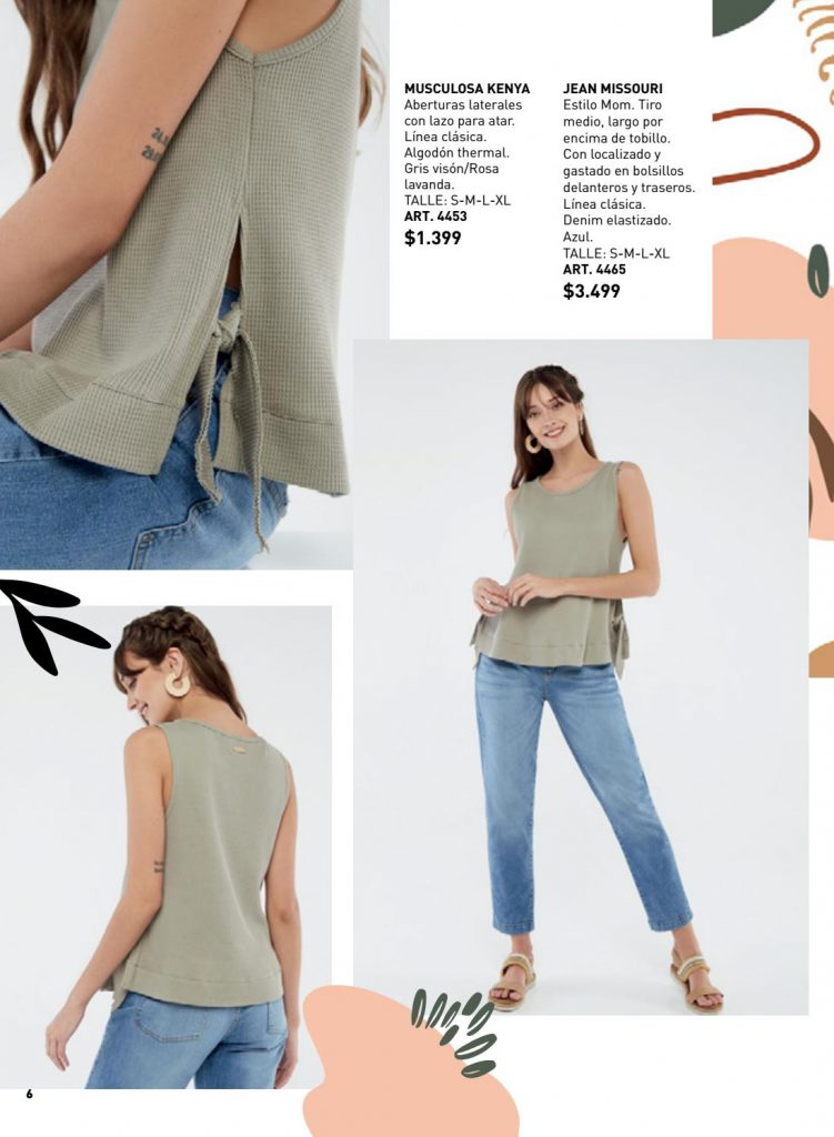jeans mujer wineem verano 2021