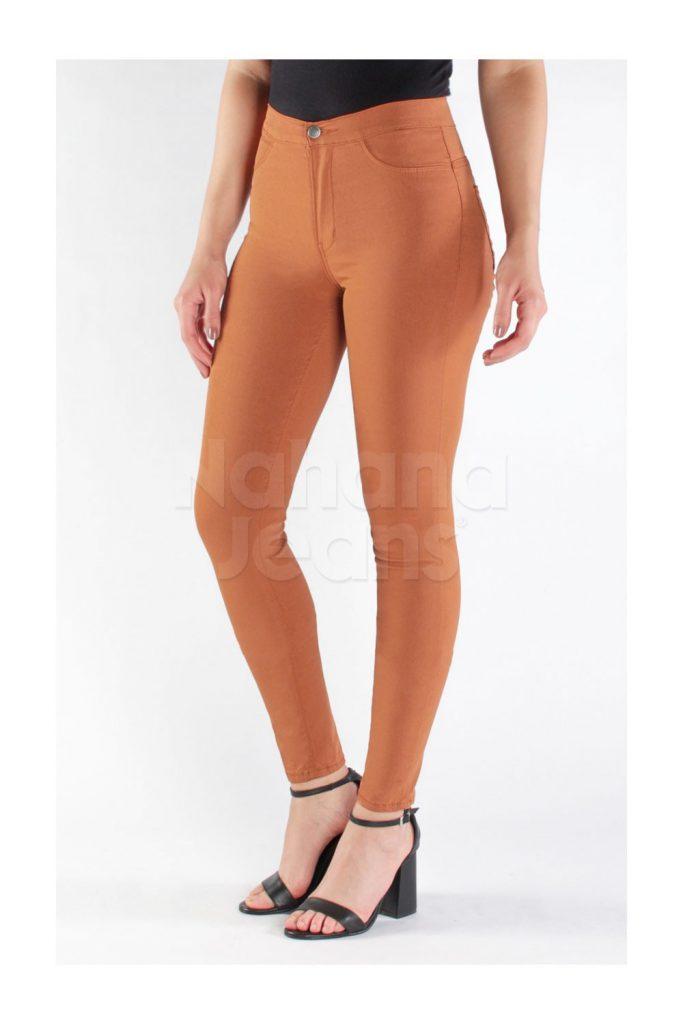 jeans naranja chupin verano 2021 Nahana Jeans