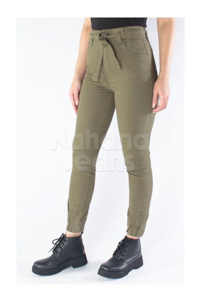 jeans verde chupin verano 2021 Nahana Jeans