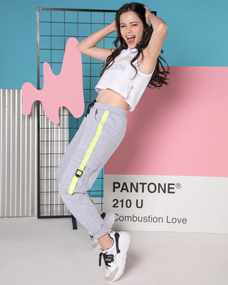 jogger y top teenager combustion love verano 2021