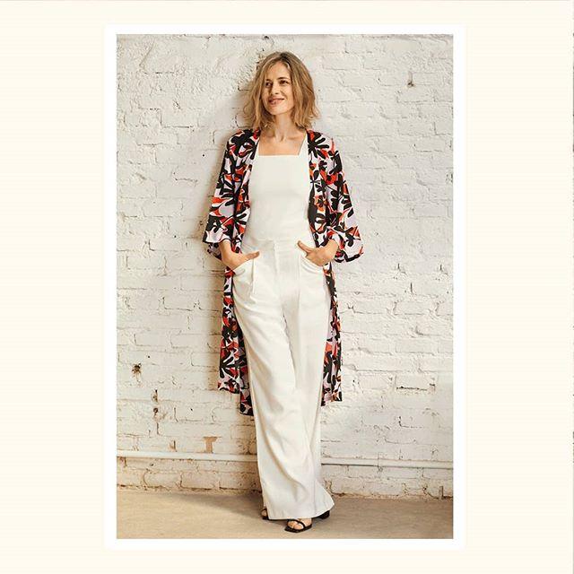 kimono estampado Silenzio verano 2021