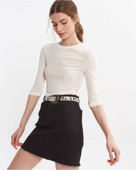 minifada jeans negra Desiderata verano 2021