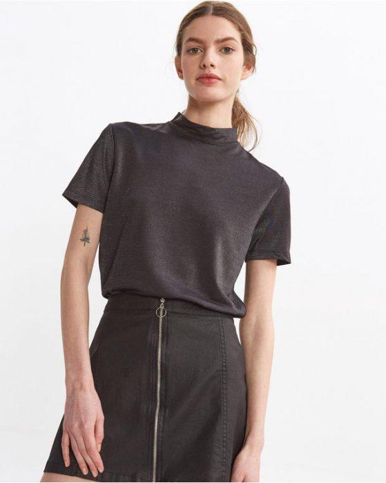 minifalda con cierre adelante Desiderata verano 2021