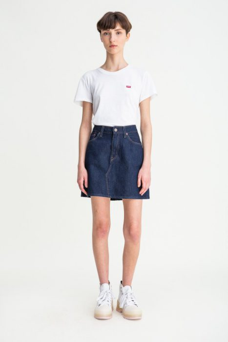 minifalda platao denim mujer verano 2021 Levis