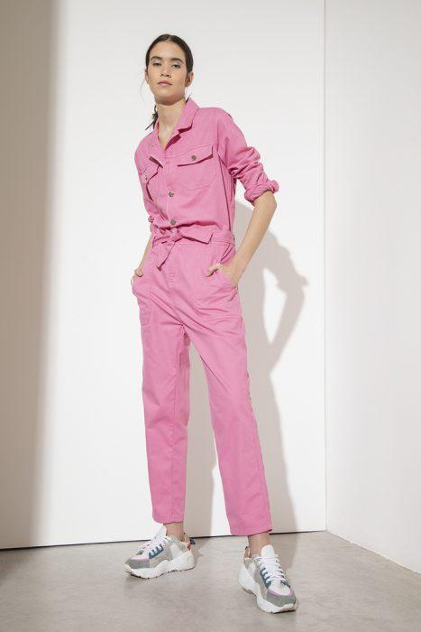 mono mameluco rosa mujer doll store verano 2021