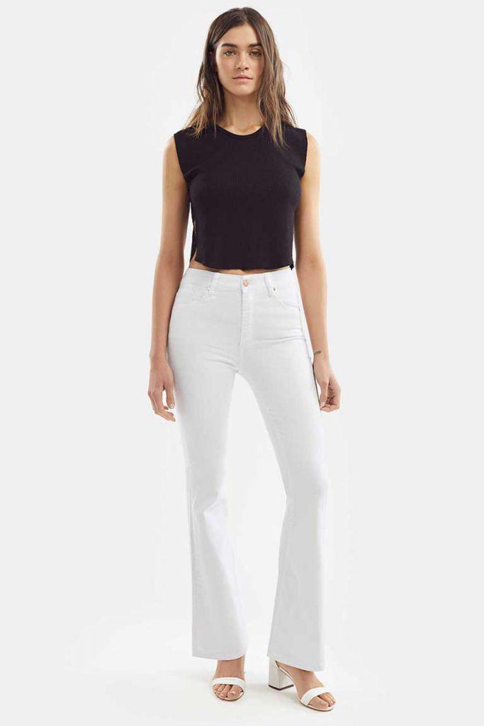 oxford blanco Adicta jeans verano 2021