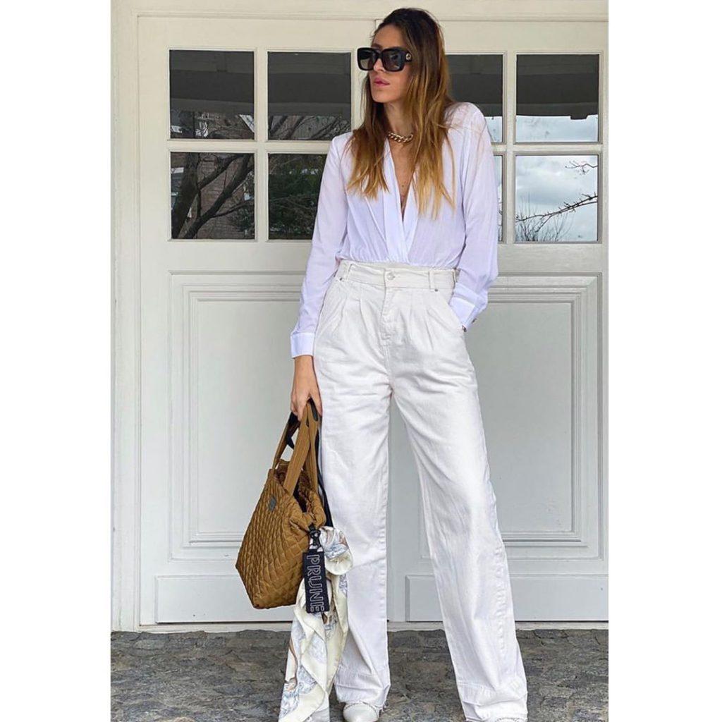 palazzo y camisa blanca Paris by Flor Monis verano 2021
