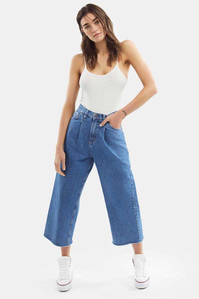 pantacourt denim Adicta jeans verano 2021