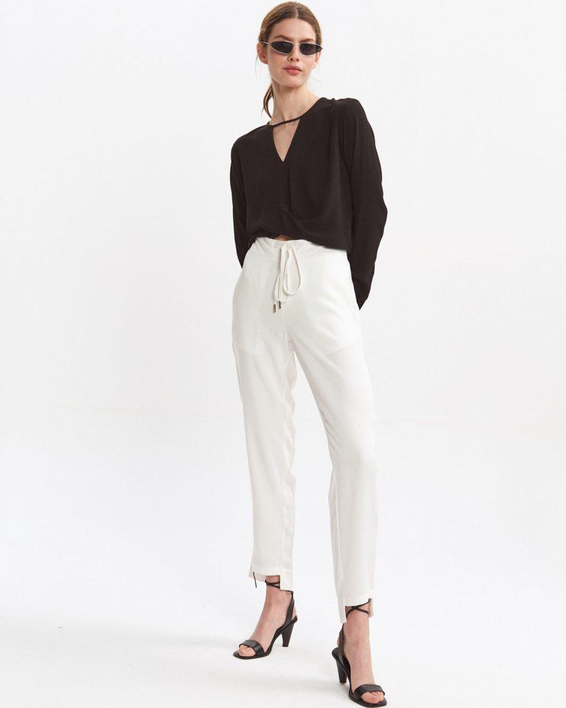 pantalon algodon blanco Desiderata verano 2021
