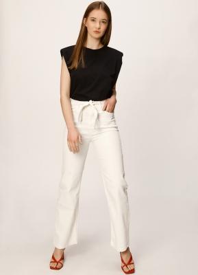 pantalon blanco melocoton verano 2021