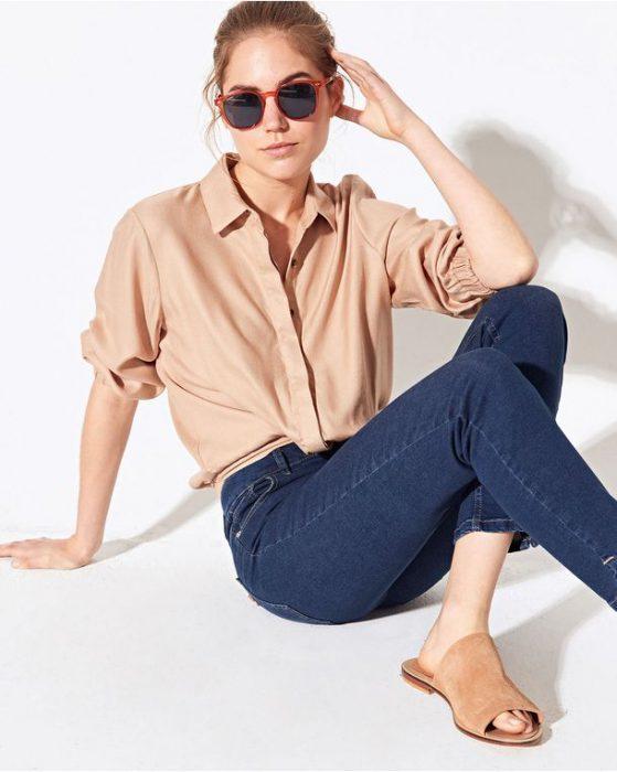pantalon de jeans System verano 2021