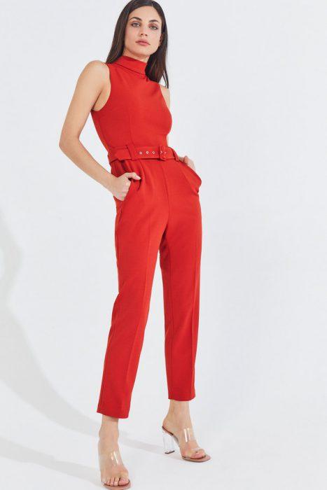pantalon de vestir rojo markova verano 2021