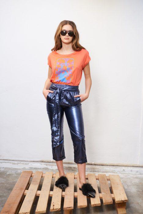 pantalon metalizados Allo Martinez verano 2021