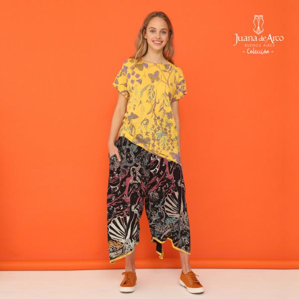 pantalones apmlios pantaocurt juana de arco verano 2021