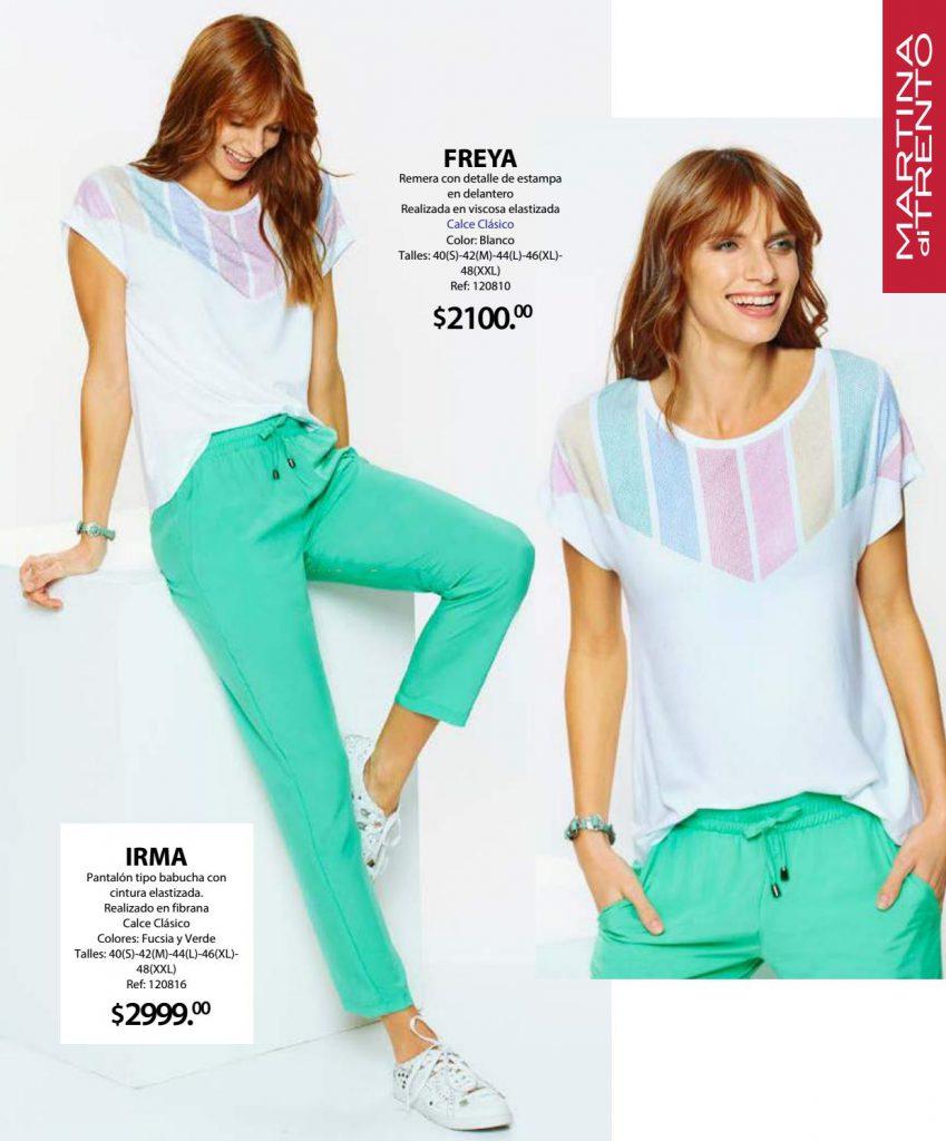 pantalones de moda martina Di trento verano 2021