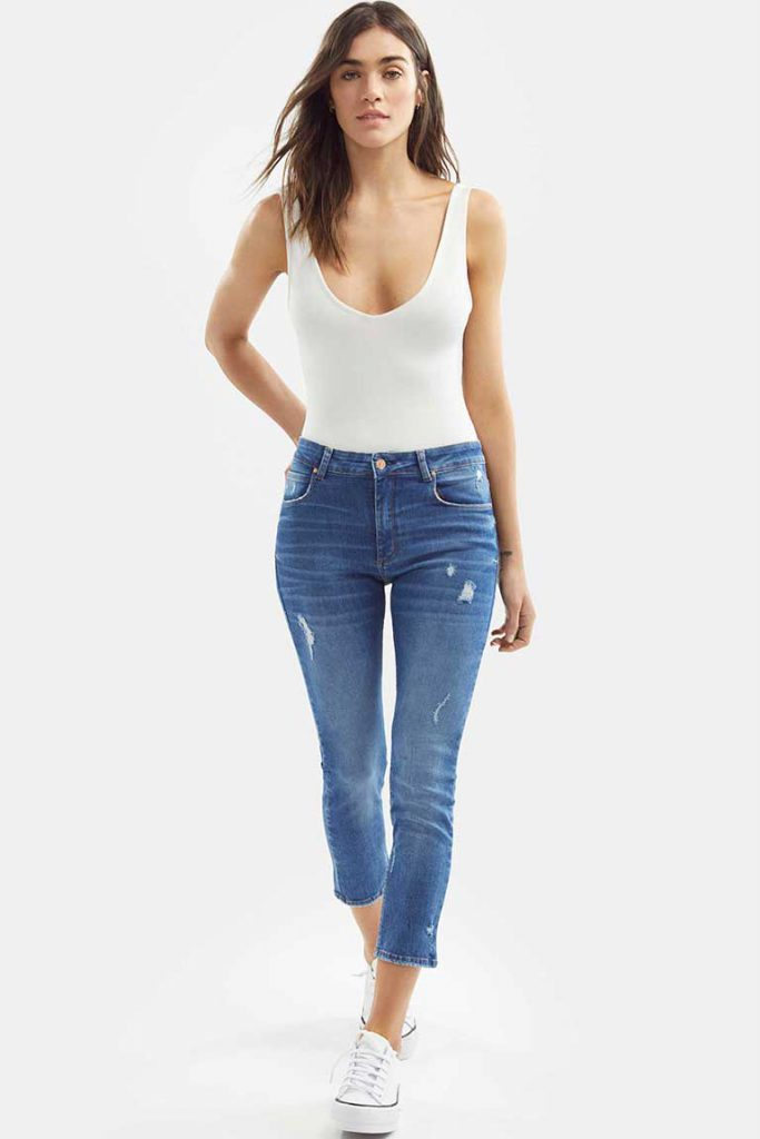pantalones moda mujer Adicta jeans verano 2021