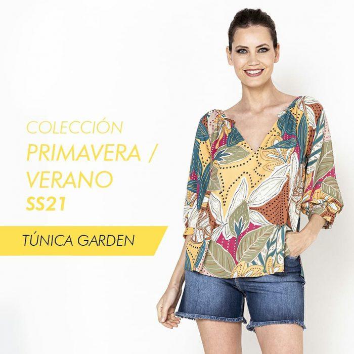 remera tunica senoras Adriana Costantini verano 2021