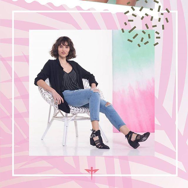 saco negro y blusa verano 2021 tabatha Jeans