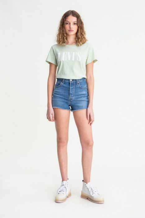 short jeans mujer verano 2021 Levis