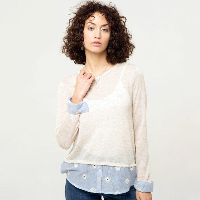 sweater fino blanco verano 2021 try me