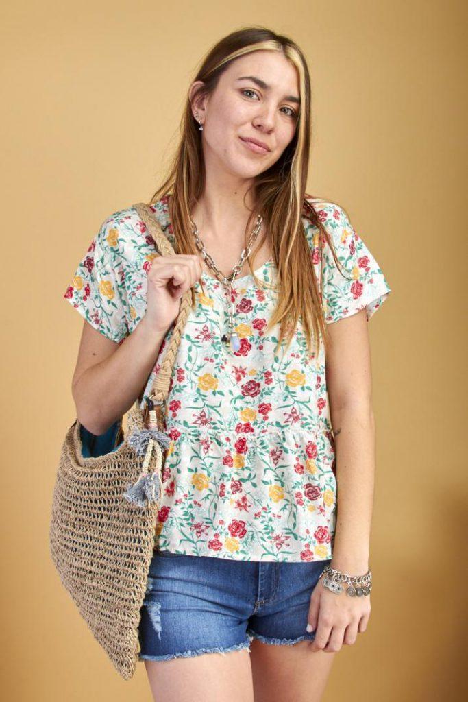 verano 2021 camisola estampada coleccion primavera mujer kevingston